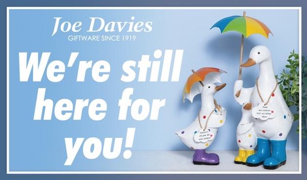 Joe Davies reschedules at At Home event